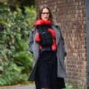 Keira Knightley – Out on a stroll with newborn baby daughter Delilah in London