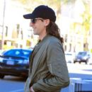 Adrien Brody spotted in Beverly Hills, California on February 14, 2017. Adrien was with a friend having lunch at Ebaldi restaurant - 422 x 600