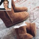Cozy and Cute! Rosie Huntington-Whiteley Shares Sweet Snap of Her and Son Jack's Matching Boots