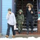 Angelina Jolie out in  Colorado (January 2, 2016) - 454 x 303