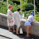 Katy Perry in Swimsuit at Grotta Azzurra in Capri