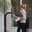 Ashley Benson heads to the gym in West Hollywood on March 28, 2016