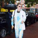 Gigi Hadid – Goes to the 'Color me mine' Studio in NY