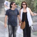 Lina Printzou and Vassilis Haralambopoulos- Acropolis museum visit - 454 x 606