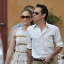 Jennifer Lopez And Her Husband Marc Anthony Go Shopping, May 10 2010