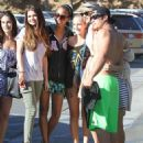 Selena Gomez and Taylor Swift out at Paradise Cove (June 27)