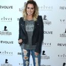 Ashley Tisdale Velvet X and St Jude Join The Fight Charity Tee Launch In Malibu