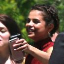 Selena Gomez at David Henrie and Maria Cahill's Wedding in Los Angeles - 454 x 568