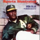 Vida Blue - Sports Illustrated Magazine Cover [United States] (27 March 1972)