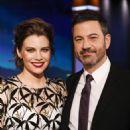 Lauren Cohan - 'Jimmy Kimmel Live' on February 28th, 2019 - 454 x 681