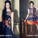 Mariacarla Boscono for Alberta Ferretti Spring/Summer 2014 Ad Campaign