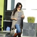 Jenna Dewan, stops by House of Tailoring in West Hollywood, CA on November 13, 2012