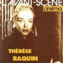 Simone Signoret - L'Avant-Scene Cinema Magazine Cover [France] (June 1994)