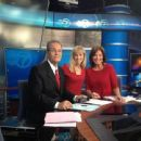 Ron Magers, Tracy Butler & Kathy Brock In The Channel 7 News Room - 454 x 340