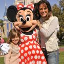 Eva LaRue - Disney World, 3 March 2010