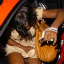 Serena Williams At Mr. Chow In Beverly Hills 2007-07-31