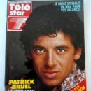 Patrick Bruel - Télé Star Magazine Cover [France] (2 July 1990)