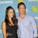 Asha Leo and Sasha Roiz