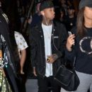Tyga made his way through Sydney airport, being mobbed by fans ahead of his tour stop in Sydney, Australia on April 9, 2016 - 397 x 600