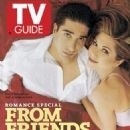 February 10, 1996 featuring Jennifer Aniston and David Schwimmer of Friends. - 454 x 683