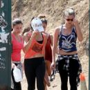 Vanessa Hudgens hiking at Runyon Canyon with her sister, Stella (August 23)