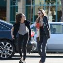 Elizabeth Olsen With a Friend – Out in Los Angeles 11/24/ 2016 - 454 x 505