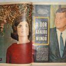 John F. Kennedy - Fatos E Fotos (fatosefotos) Magazine Pictorial [Brazil] (7 December 1963)
