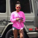 Christina Milian out grocery shopping in LA