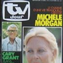 Michèle Morgan - TV Jour Magazine Cover [France] (22 October 1980)