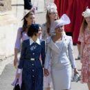Priyanka Chopra and  Abigail Spencer :  Prince Harry Marries Ms. Meghan Markle - Windsor Castle - 416 x 600