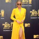 Jasmine Sanders – MTV Movie and TV Awards 2018 in Santa Monica - 454 x 713