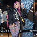 Nicki Minaj – Store Diesel Fashion Show in Milan