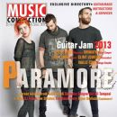 Hayley Williams, Jeremy Davis, Taylor York - Music Connection Magazine Cover [United States] (April 2013)