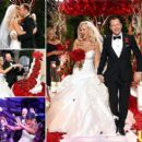Jenny McCarthy and Donnie Wahlberg tied the knot in St. Charles, Illinois, outside Chicago on Aug. 31, 2014