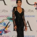 Chanel Iman 2014 Cfda Fashion Awards