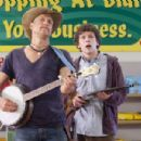 Jesse Eisenberg (right) and Woody Harrelson star in Columbia Pictures' comedy ZOMBIELAND. Photo By: Glen Wilson. © 2009 Columbia Pictures Industries, Inc.  All rights reserved.