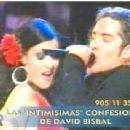 David Bisbal and Dayanara Torres