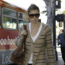Jessica Biel Out And About In LA And Brentwood - Mar 18 2008