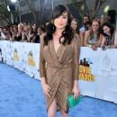 Actress Ashley Rickards attends The 2015 MTV Movie Awards at Nokia Theatre L.A. Live on April 12, 2015 in Los Angeles, California