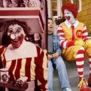 Ronald McDonald and Bozo the Clown