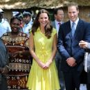 Kate Middleton: traveled to Tuvanipupu Island on the Queen's Diamond Jubilee Tour of the Far East