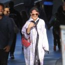 Noomi Rapace at the Lakers game in Los Angeles