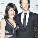 Pregnant Marion Jolles with Romain Grosjean (Jan 2013) - 449 x 685