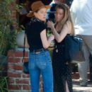 Amber Heard – Having lunch at Al Fresco in Los Feliz - 454 x 681