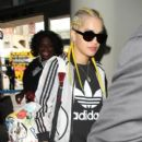 Rita Ora arrives at Los Angeles Int'l airport LAX on April 7, 2016 - 400 x 600