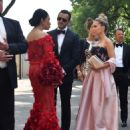 Sylvie Meis at Victoria Swarovski wedding in the San Giusto church in Trieste - 454 x 597