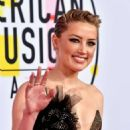 Amber Heard – 2018 American Music Awards in Los Angeles