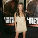 Maggie Q - Live Free Or Die Hard Premiere - NYC (Jun 22 2007)