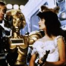 Bill Pullman, Daphne Zuniga and Lorene Yarnell in Spaceballs (1987) - 454 x 303