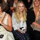 AnnaSophia Robb was spotted hanging out at New York Fashion Week yesterday, September 11